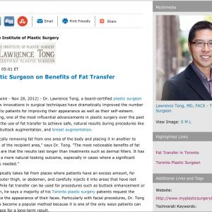 plastic surgeon in toronto, breast augmentation, toronto plastic surgery, fat transfer, facelift