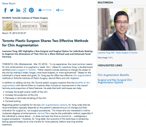 plastic surgeon in toronto,chin augmentation,benefits of chin augmentation,dermal fillers,chin implants
