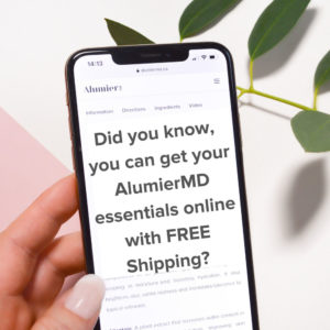 Purchase Alumier Skincare Online
